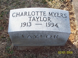 Charlotte Myers Taylor