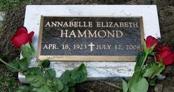 Annabelle Elizabeth <i>Nelson</i> Hammond