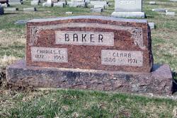 Clara Christine <i>Eisele</i> Baker