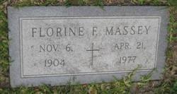 Florine Bessie <i>Fisher</i> Massey