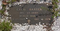 Cecil Baxter
