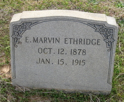E. Marvin Ethridge