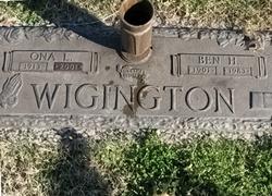 Ben Herbert Wigington