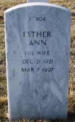 Esther Ann Longson