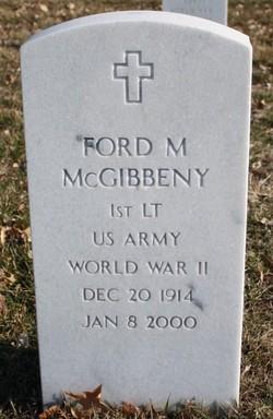 Ford M Mcgibbeny