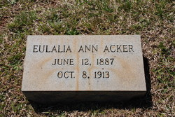 Eulalia Ann Acker