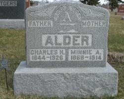 Minnie A. <i>Stowe</i> Alder