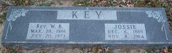 Rev. William Brisco WILL Key