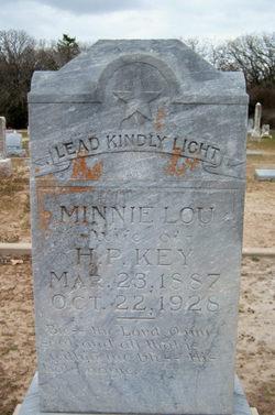 Minnie Lou <i>Segrest</i> Key