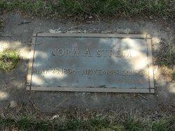 Nora Anna <i>Hutchinson</i> Strom