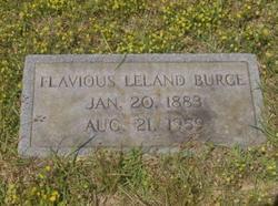 Flavious Leland Burge