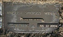 Angela <i>Spriggs</i> Winner