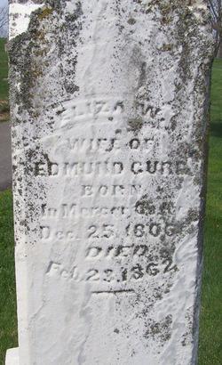 Eliza Weston <i>Thomas</i> Curd