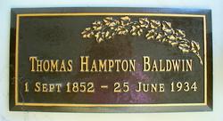 Thomas Hampton Baldwin