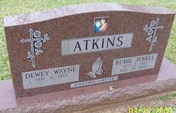 Rubie Jewell Atkins
