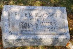 Nellie M. <i>Blackwell</i> Ayers