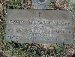 David Slydean McGee