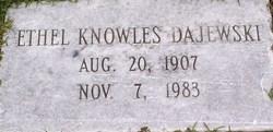 Ethel <i>Knowles</i> Dajewski