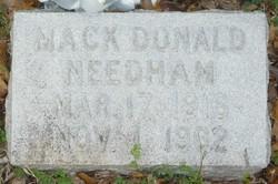 Mack Donald Needham