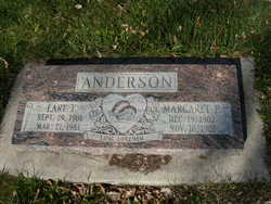 Earl F Anderson
