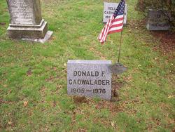 Donald F Cadwalader