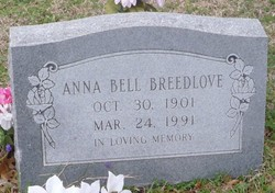 Anna Bell <i>Needham</i> Breedlove