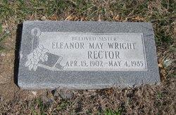Eleanor May <i>Wright</i> Rector