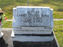 Cammie <i>Stevens</i> Boney