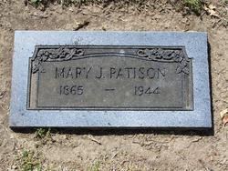 Mary Jane <i>Clark</i> Patison