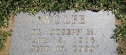 Dr Joseph M. Wolfe