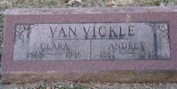 Clara <i>White</i> Van Vickle