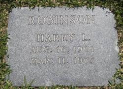 Harry Leon Robinson