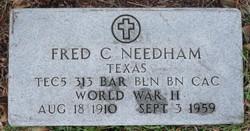 Fred C Needham