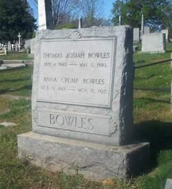 Anna <i>Crump</i> Bowles