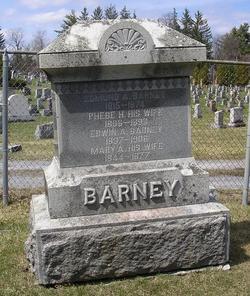 Phebe H. <i>Stratton</i> Barney