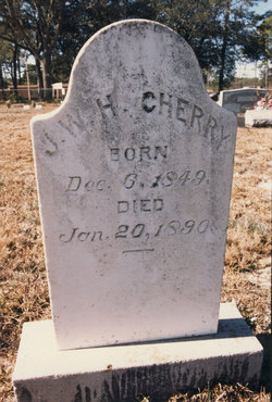 James William H. Cherry