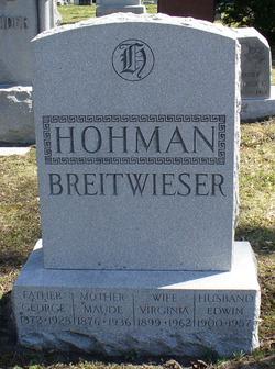 Virginia <i>Hohman</i> Breitwieser