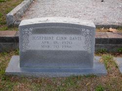 Josephine <i>Ginn</i> Davis