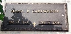 Hazel B Cartwright