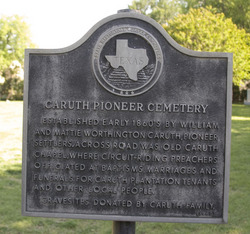 Caruth Pioneer Cemetery
