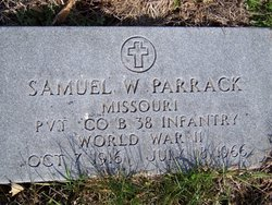 PVT Samuel W Parrack