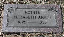 Isabelle Elizabeth <i>Johnson</i> Arvig