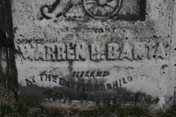 Corp Warren H. Banta