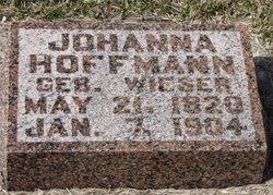 Johanna <i>Wieser</i> Hoffmann