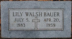 Lillian Lily <i>Walsh</i> Bauer