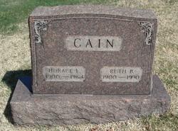Ruth <i>Buchanan</i> Cain