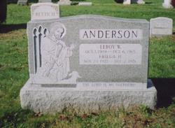 Frieda Hildegard <i>Paulsen</i> Anderson