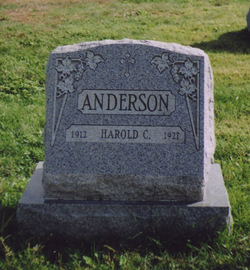 Alice Karolina <i>Andersson</i> Anderson