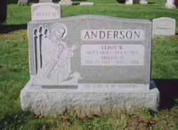 Gustave Wilhelm Gus Anderson