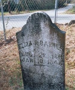 Eliza R <i>Watkins</i> Barnes
